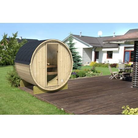 Barrel sauna 160