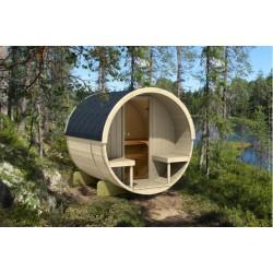 Barrel sauna 210