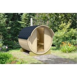 Barrel sauna 220