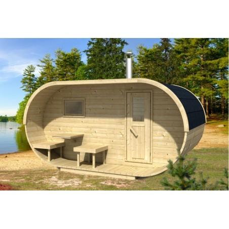 Oval sauna 400