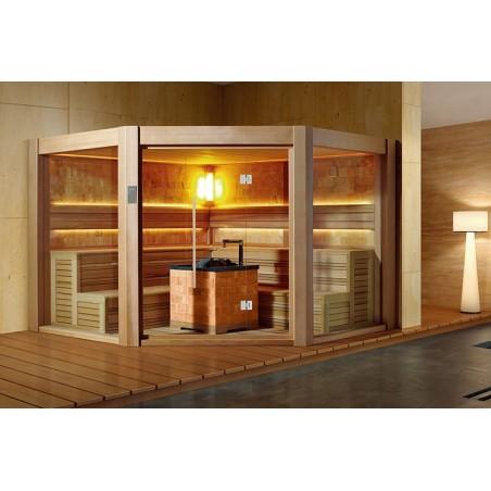 Corner Sauna Comfort - 18